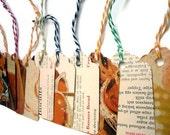Bread - Vintage Cookbook Gift Tags - One Dozen