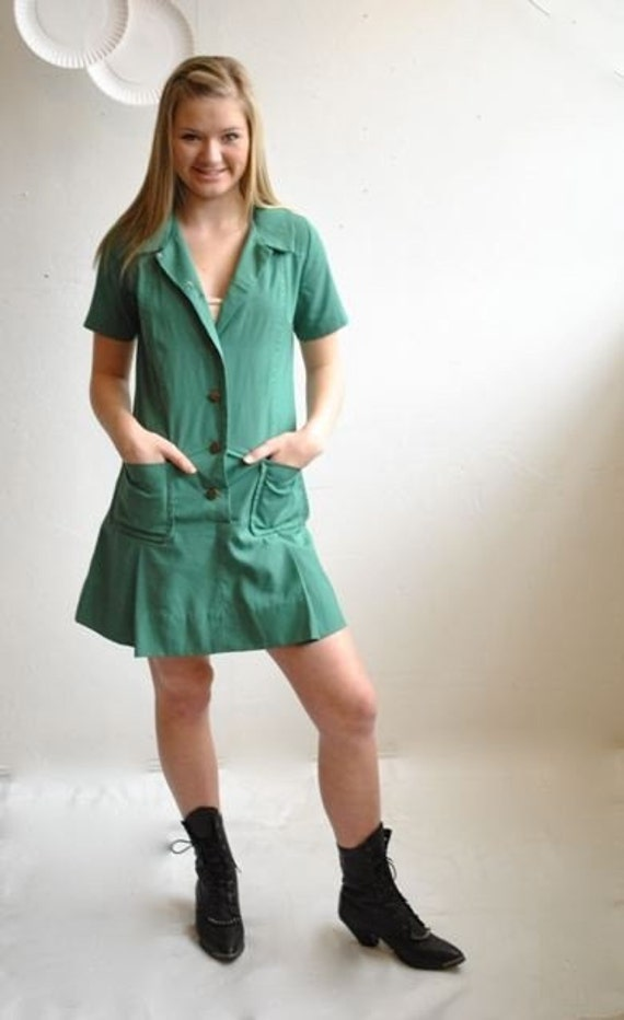 Vtg 70s Girl Scout Dress By Vintageurbanrenewal On Etsy