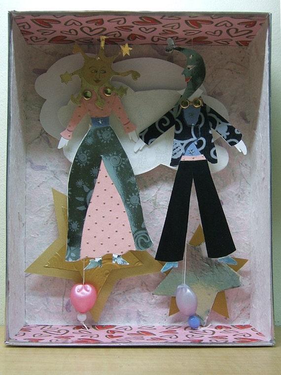 3D paper   Wedding  Gift  Box