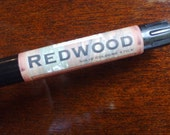 REDWOOD Solid COLOGNE Stick - brisk woodland scent by MAN CAVE SOAPWORKS
