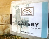 SOAP - GATSBY - Quality Made with Organic Oils & Shea Butter by Man Cave Soapworks