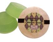 SHAVE Soap - GENTLEMANS TWEED -  Long Lasting Shaving Soap