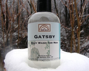 BODY WASH - GATSBY - Shower Gel for Men by Man Cave Soapworks