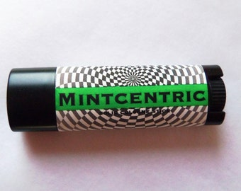 Solid COLOGNE Stick - MINTCENTRIC - cool, crisp scent - FREE Shipping to U S