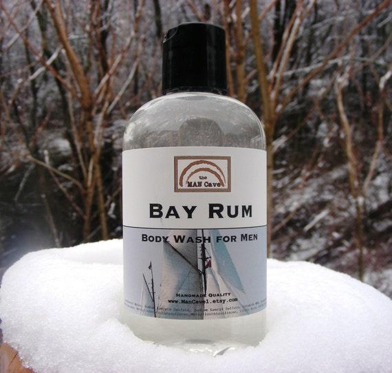 Man Cave Shower Gel Boots : Body wash bay rum shower gel for men by man cave soapworks