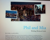 Travel Guide Book for Wedding Week