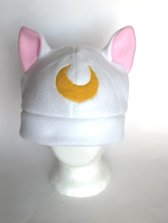 Sailor Moon Guardian Cat Artemis Fleece Hat