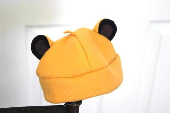 Lion King Simba Fleece Hat for Baby (6-9 mo)