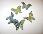 Torched fired Enameled butterflies