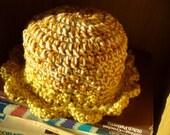 Blossom Hat, Pumpkin Pie -- size 3T, 4T, girls' size 4