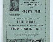 St Louis MO County Fair 1952 Adv Booklet
