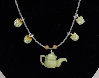 Green Tea Jewelry Set