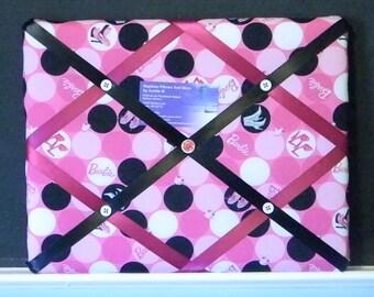 11 x 14 Barbie Polka Dots Memory Board
