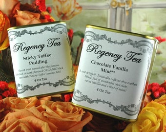 SAMPLE, Regency Tea, Order a sample of any of the available teas!