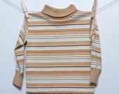 vintage Toddler Striped Turtleneck / sale