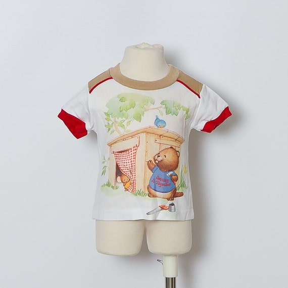 vintage 1980s baby t-shirt / Shirt Tales