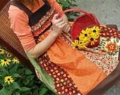 Fall Harvest Dress by Sarah and Jane: Custom order for megdougherty