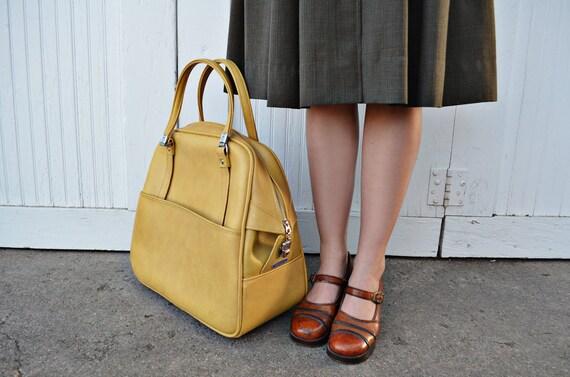 Vintage Mustard Tote Bag