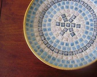 Hues of Blue Tiled Bowl