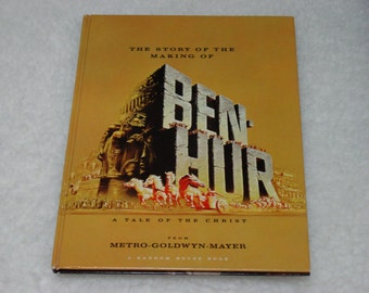 1959 Souvenir Book The Story of the Making of Ben Hur Movie Motion Picture Film