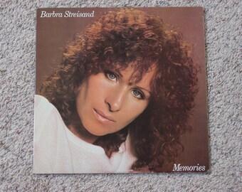 """Vintage 1981 Vinyl LP """" Barbra Streisand Memories """""""