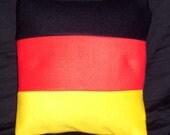 German flag pillow