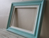 Frame - Vintage Green - Cottage - Beach - Shabby and Chic - Home decor