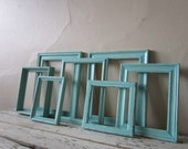 Frame grouping  - Frame set - Vintage - Cottage - Beach - Shabby and Chic - Home decor
