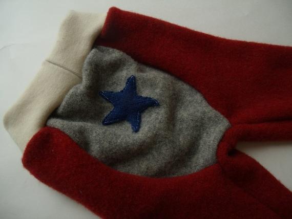SALE Recycled Wool All-Star Longies- Medium