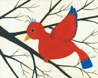 Redbird 8x10