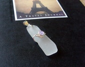 Sea Glass Necklace- Alki Beach Glass - Clean Slate