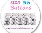Size 36 - Cover button 20pcs/pack