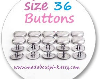 Size 36 - Cover button 20pcs/pack