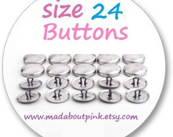 Size 24- Cover button 20pcs/pack