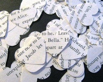 500 Breaking Dawn  text heart confetti
