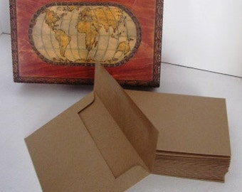 75 Kraft Paper A6 envelopes