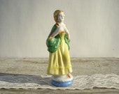 French Colonial Woman Figurine Occupied Japan