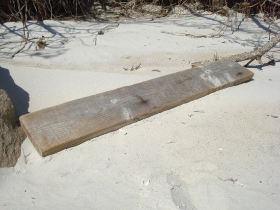 Reclaimed Boat Wood Plank Weathered Driftwood