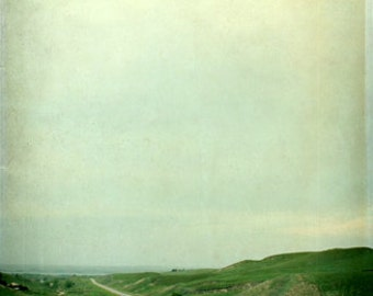 Landscape Photography Country Road Nebraska Sand Hills  11x14