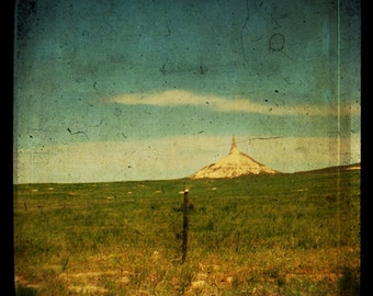 Landscape Photography Chimney Rock Nebraska Oregon Trail 8x8