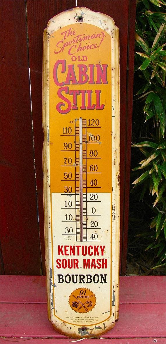 Antique Vintage Old Cabin Still Kentucky Sour Mash Bourbon