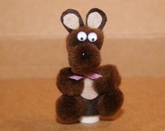 Brown Bear Finger Puppet