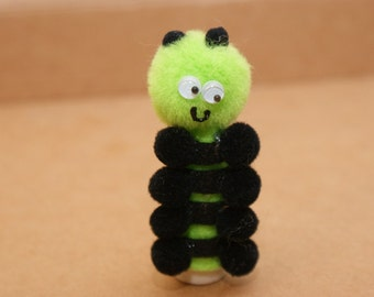 Caterpillar Finger Puppet