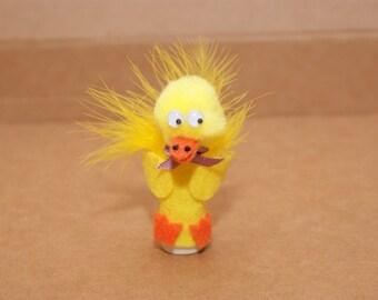 Duck Finger Puppet