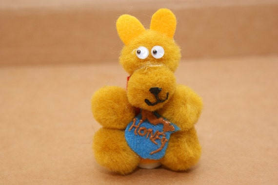 Honey Bear Finger Puppet