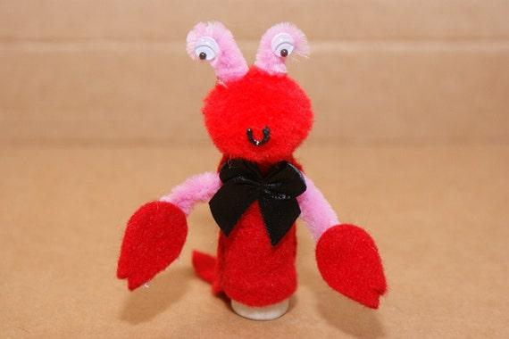Lobster Finger Puppet