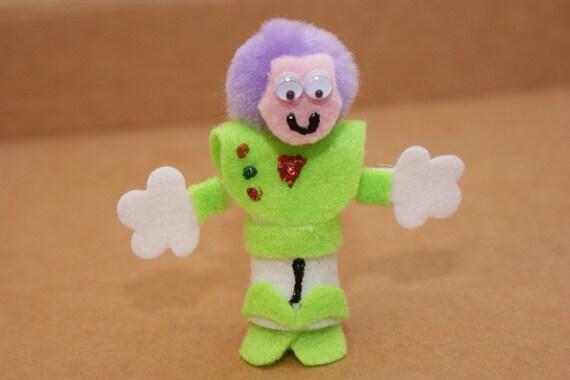 Space Ranger Finger Puppet