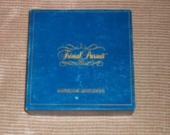 Vintage Trivial Pursuit Board Game-Master Game-Genius Edition-Complete