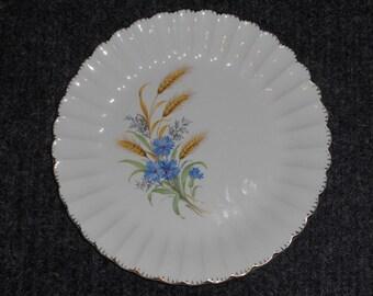 Vintage American Limoges Plate-Wheatfield Pattern