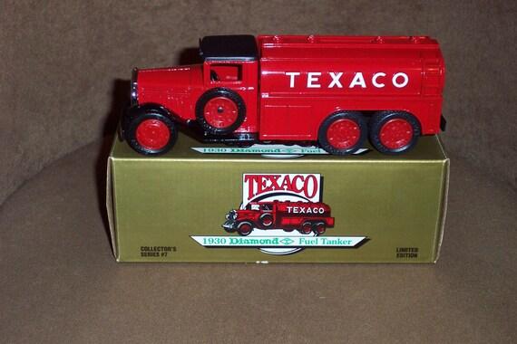 Texaco 1930 Diamond Fuel Tanker Bank No.7-MINT-NIB